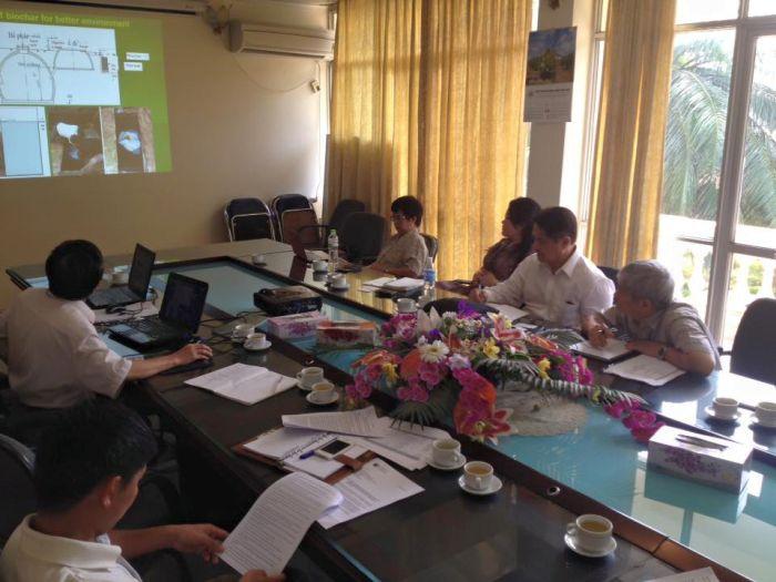 Viện Thổ nhưỡng Nông hóa đón tiếp đoàn Đánh giá dự án TA 8163