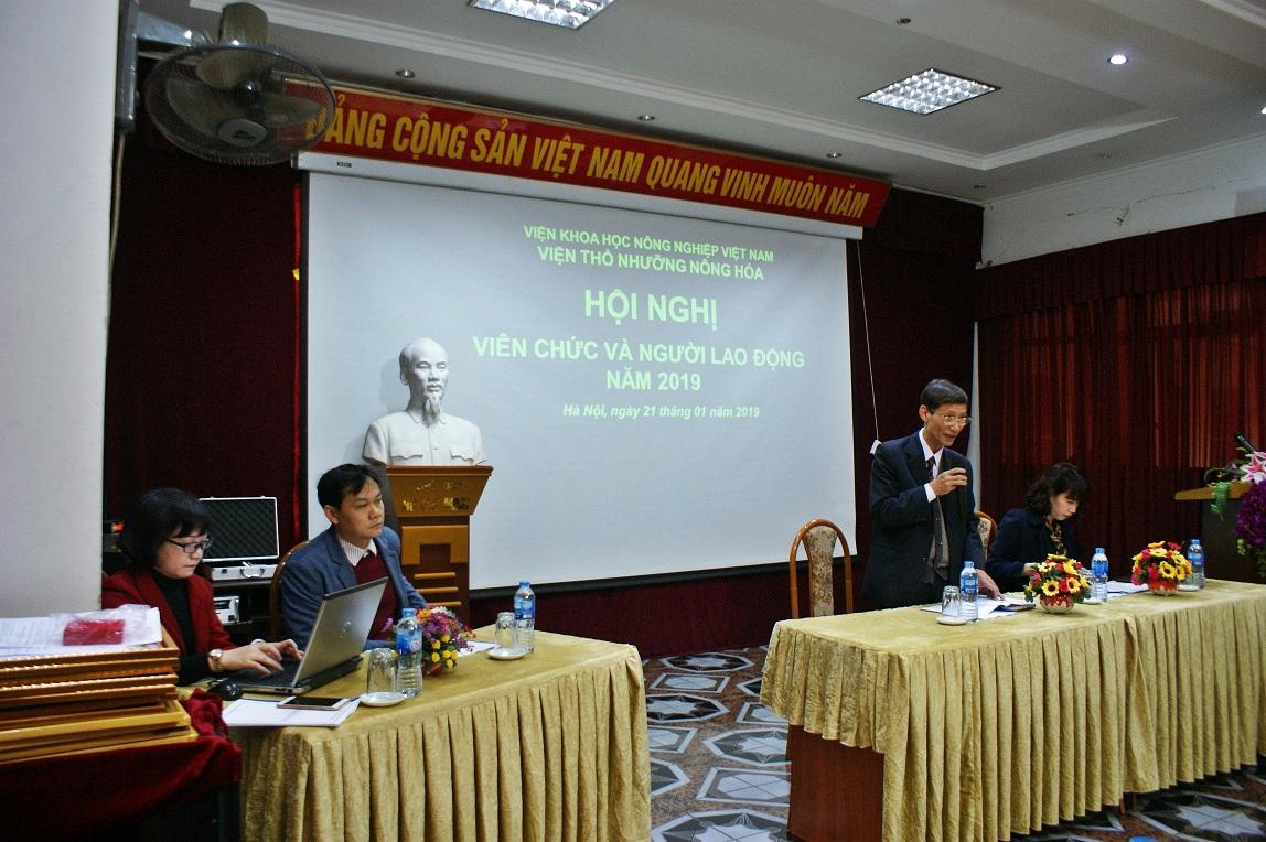 Hội nghị Viên chức và người lao động 2019