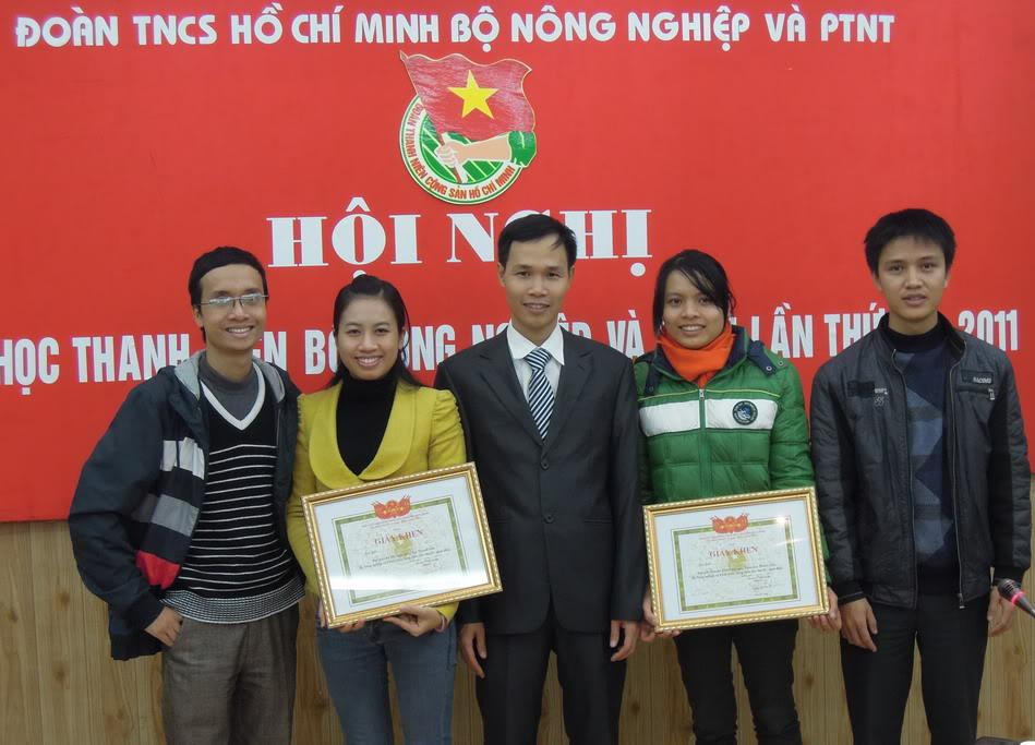Hội nghị Khoa học thanh niên Bộ Nông nghiệp & PTNT, lần thứ IV – năm 2011