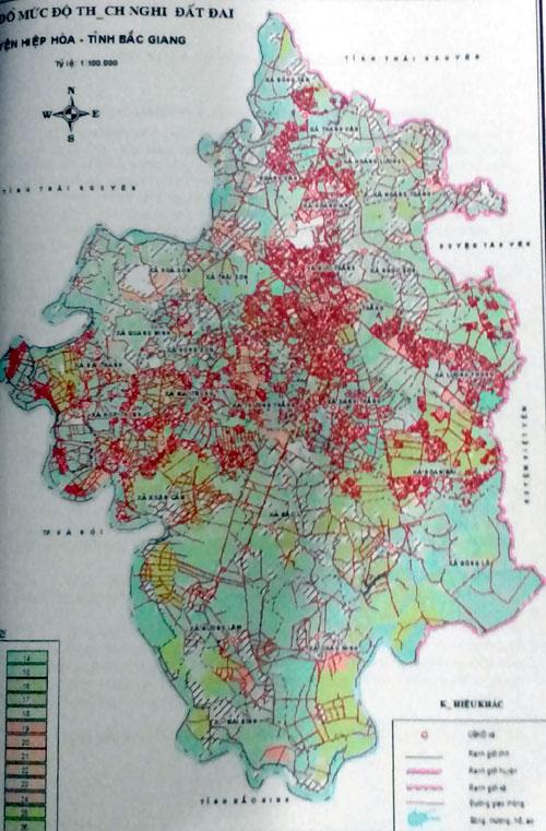 Sử dụng hiệu quả nguồn tài nguyên đất nhờ bản đồ nông hóa thổ nhưỡng