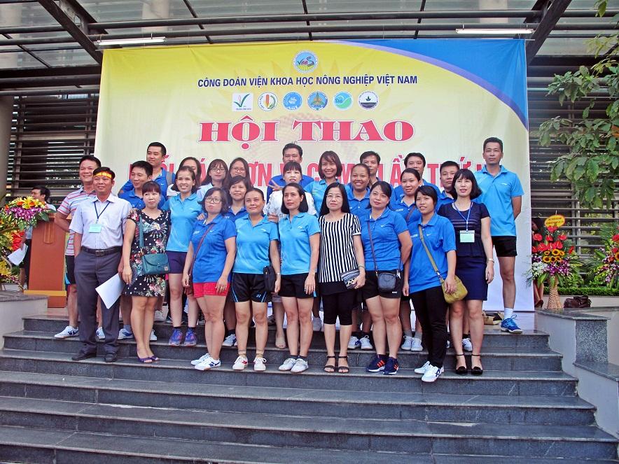 Hội thao Viện Khoa học Nông nghiệp Việt Nam lần thứ 2 - Cụm I