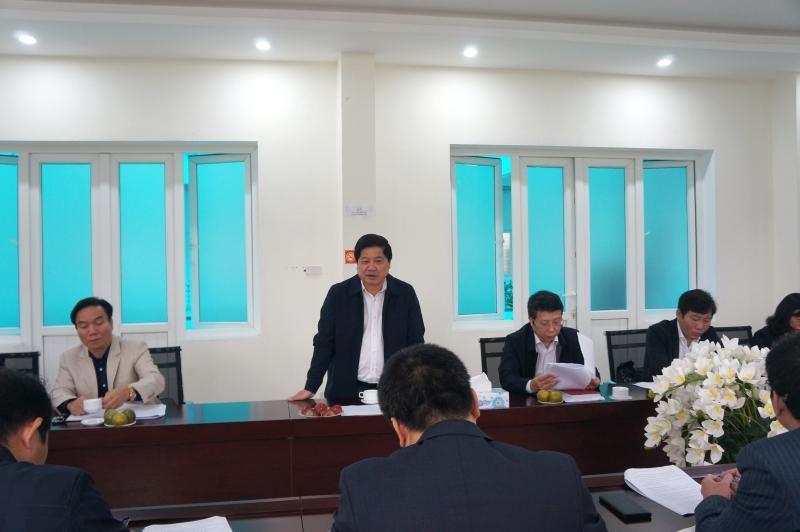 Thứ trưởng Bộ NN & PTNT Lê Quốc Doanh thăm và làm việc với Viện TNNH