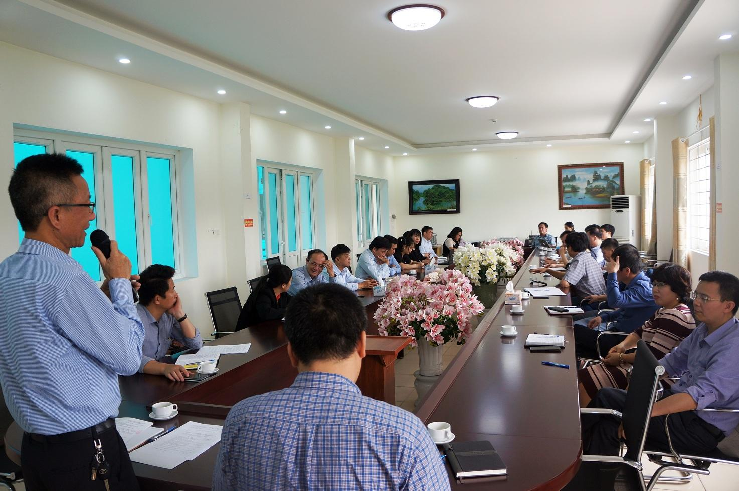 Hội nghị lấy ý kiến giới thiệu nhân sự bổ nhiệm chức danh Phó Viện trưởng Viện Thổ nhưỡng Nông hóa