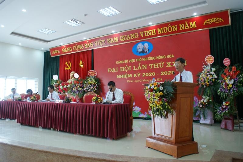 Viện Thổ nhưỡng Nông hóa tổ chức Đại hội Đảng bộ lần thứ XXVI nhiệm kỳ 2020-2025