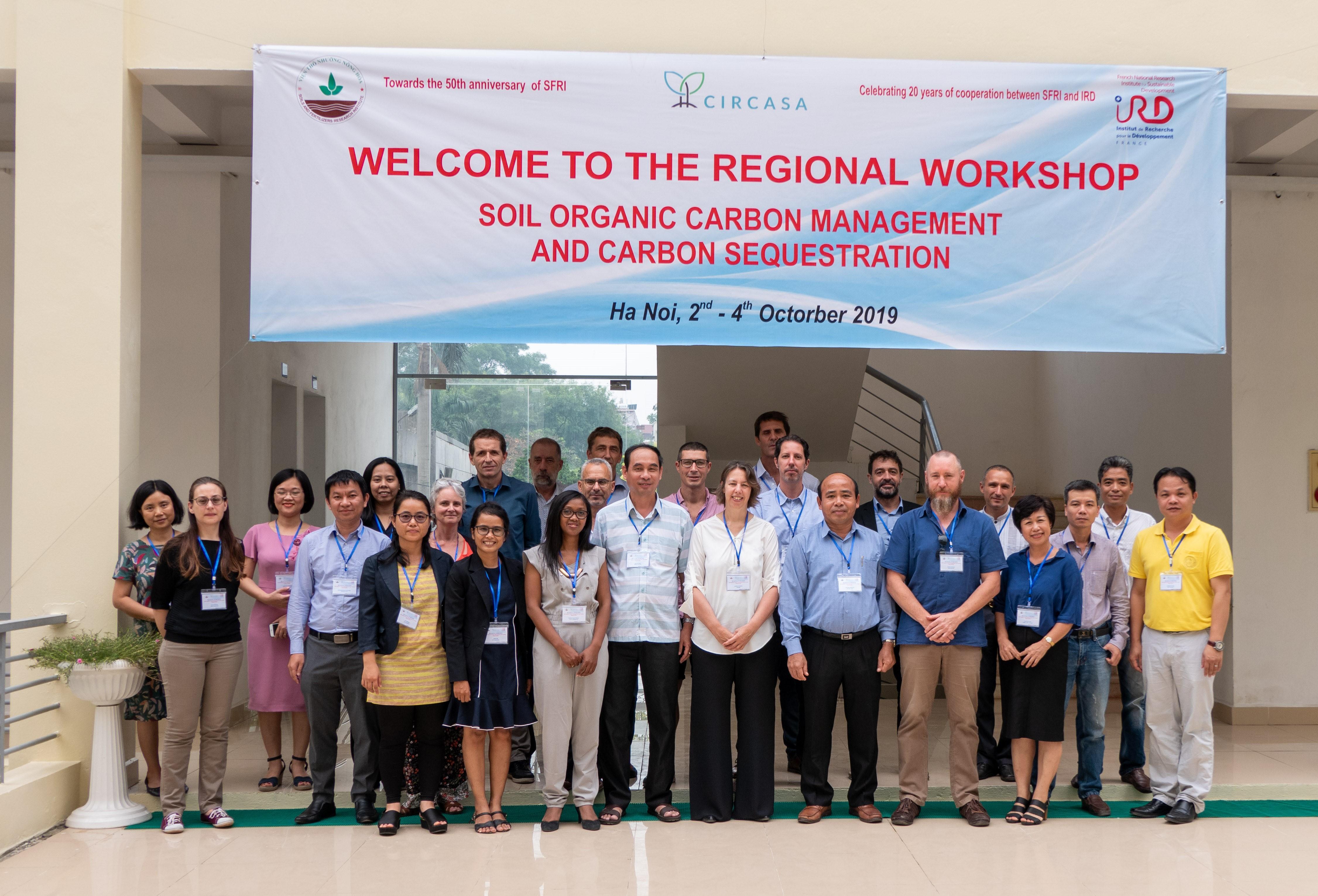 Hội thảo vùng về quản lý cacbon hữu cơ