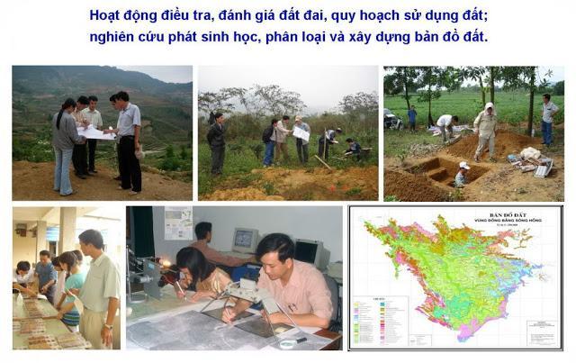 Các bài viết và công trình nghiên cứu về phát sinh học và phân loại đất, bảo vệ và sử dụng đất