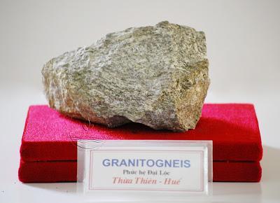 Đá Granitogneis, phức hệ Đại Lộc, TT-Huế