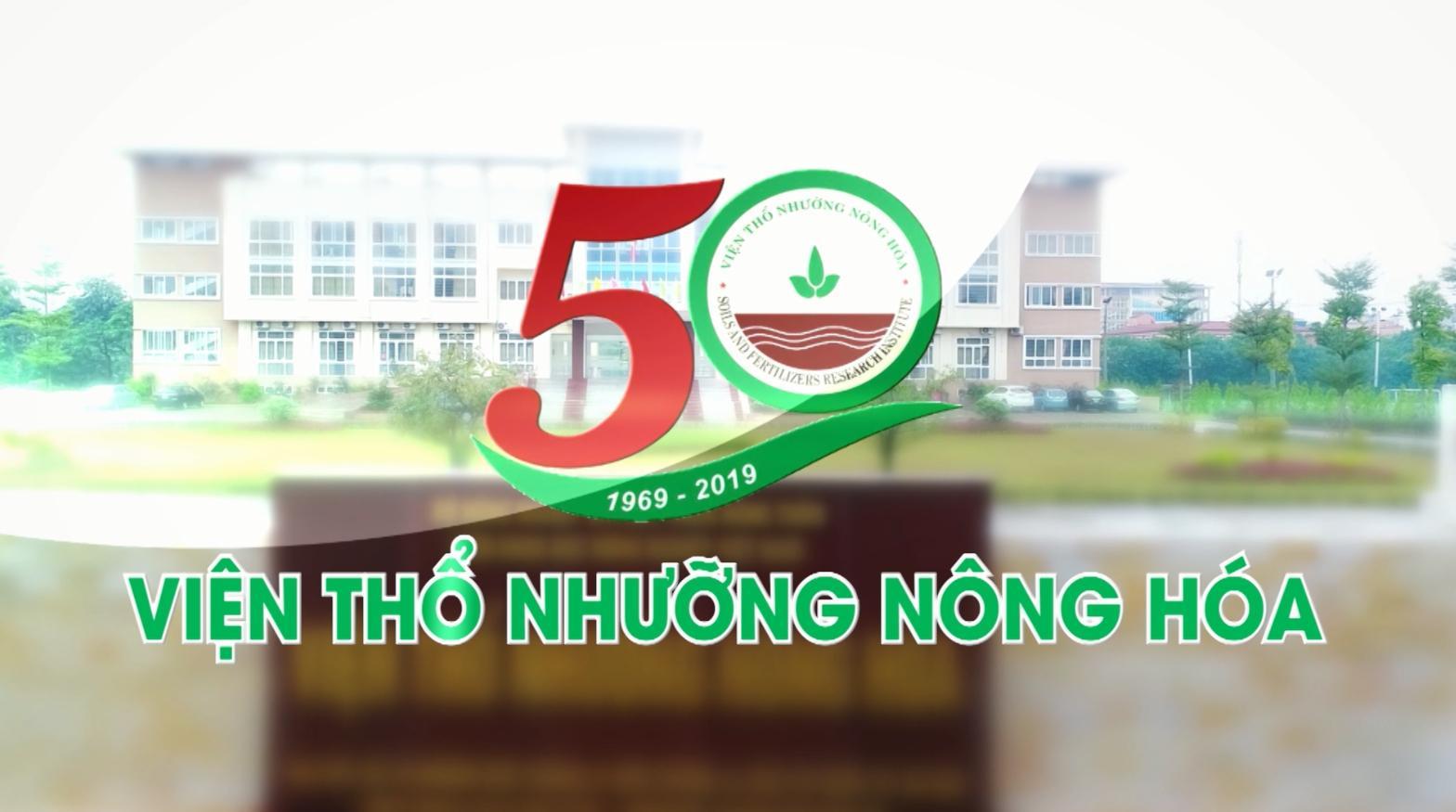 Viện Thổ nhưỡng Nông hóa - 50 năm Xây dựng & Phát triển